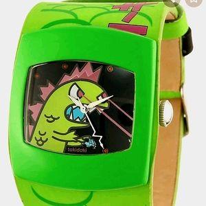 TOKIDOKI Exclusive Kaiju Leather Watch